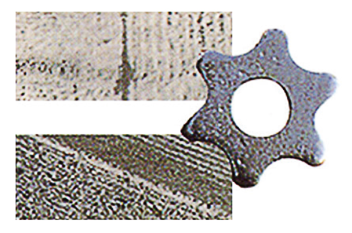 Shape of Tungsten blade